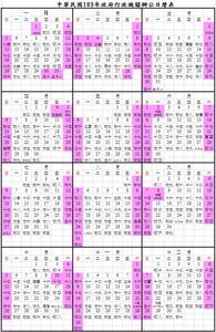 明年春節縮短僅6天 5節日可連放3天假