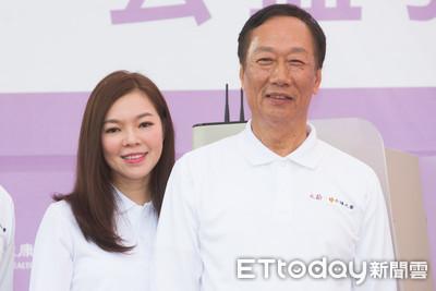 郭台銘12字霸氣告白 宣布再娶曾馨瑩
