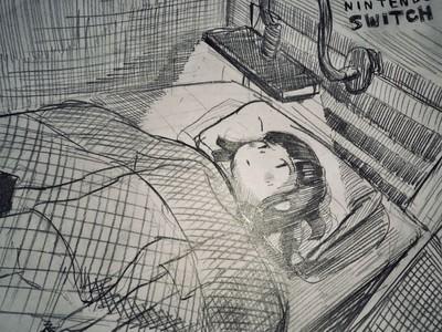 任天堂Switch使人變廢 網友進房就癱床:我媽很擔心我的未來