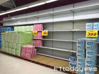 台灣只剩搶衛生紙的小確幸!