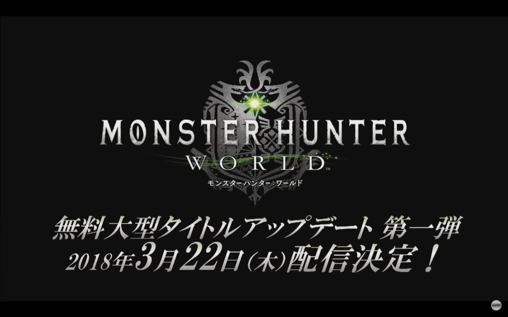 內容完整看!《魔物獵人:世界》春季大型更新下週釋出