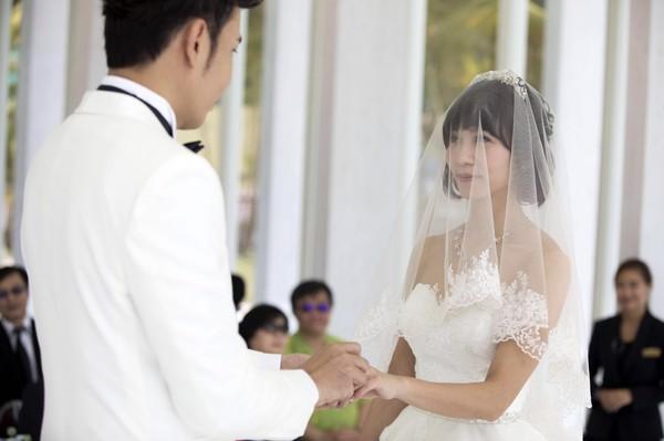 ▲▼香蕉哥哥、草莓姐姐超浪漫教堂婚禮。(圖/奧米加)