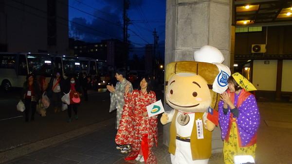 ▲▼東森全球新連鎖事業在3月舉辦的首航日本北陸旅訓活動。(圖/東宇國際提供)