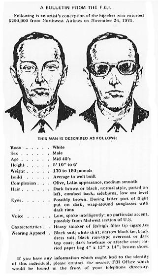 ▲▼D. B.庫柏劫機事件(圖/翻攝自Wikipedia)