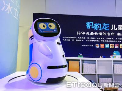 獵豹發表兒童陪伴機器人豹豹龍