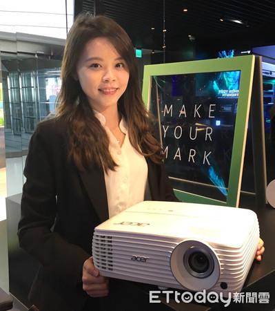 ▲▼宏碁4K UHD DLP投影機。(圖/宏碁提供)