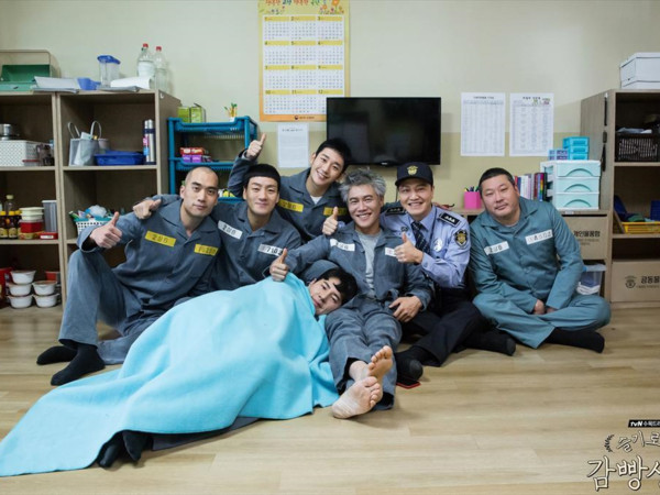 ▲朴海秀出演《機智牢房生活》在台灣知名度上升。(圖/翻攝自機智牢房生活官網)