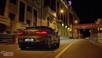 Jaguar I-PACE展現寧靜中的極致性能!靜悄悄挑戰半夜的摩納哥賽道
