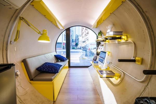 ▲▼香港水管屋             。(圖/翻攝自臉臉書OPod Tube Housing by James Law Cybertecture)