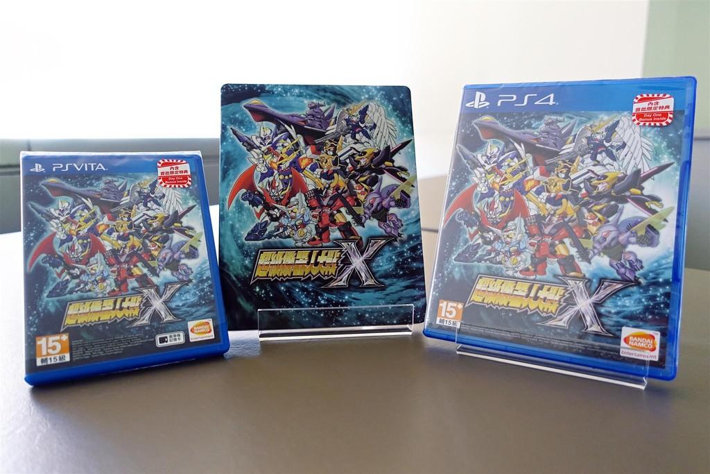 魔神英雄傳登!《超級機人大戰X》繁中版正式發售