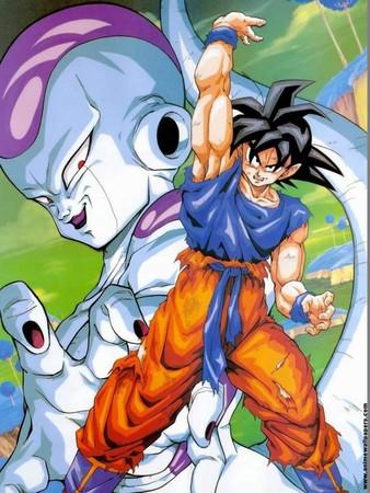 ▲▼當年七龍珠Z兩人之間的戰鬥就足足打了19集。(圖/翻攝animewallpapers.com)