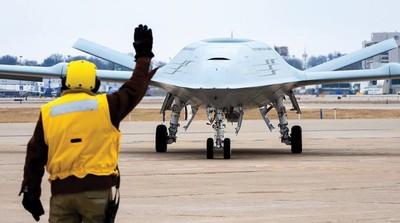 美首架艦載無人加油機將首飛 助航母攻擊範圍擴增一倍