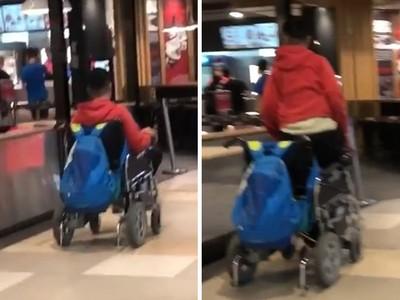 「輪椅男當眾站直」無辜被公審!心衰竭少年嘆:我可能是下一個