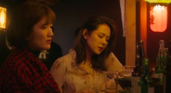 孫藝真「醉酒戲碼是真的」 與閨蜜灌酒爆罵:我這麼差?(圖/翻攝自JTBC)