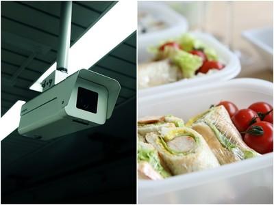 午餐被偷調監視器…隔天小偷照樣上班 正面交鋒比八點檔還扯