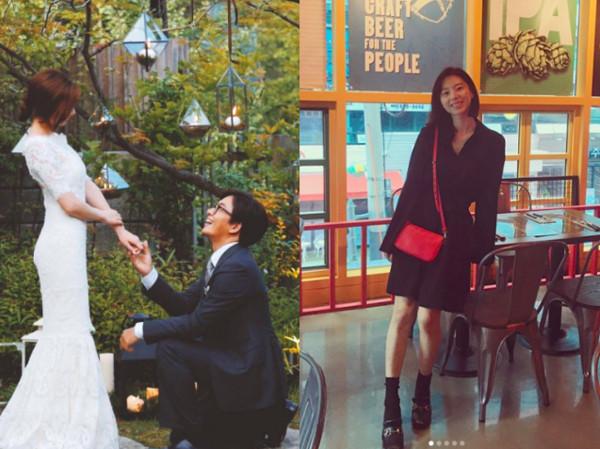 ▲▼裴勇浚、朴秀珍在2015年結婚。(圖/翻攝自IG)