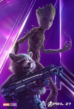 ▲▼《復仇者聯盟3:無限之戰》角色海報。(圖/翻攝自推特)