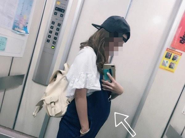 正妹懷孕搭捷運,竟被嗆這博愛座耶。(圖/翻攝爆怨公社)