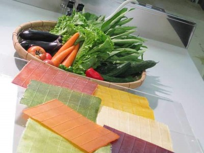薄薄「蔬菜紙」解決食物浪費,營養完整用起來還很好玩~
