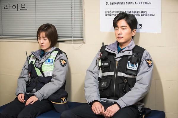 ▲韓劇《LIVE》劇照。(圖/翻攝自tvN 토일드라마臉書)