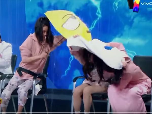 ▲歐陽娜娜的「場邊救援」,也獲得網友大力讚賞。(圖/翻攝自YouTube)
