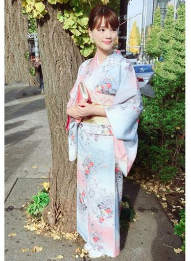 ▲日本人觉得穿上和服的女人最性感。(图/翻摄自@yukatakadaoffical IG)