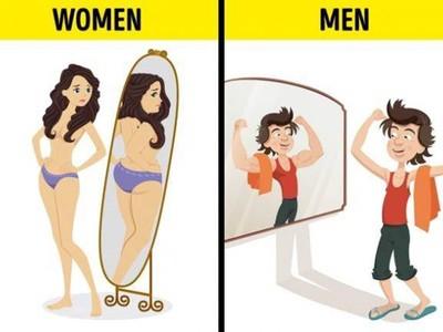 11張圖告訴你男女眼光大不同 !但有一個時刻是一樣der