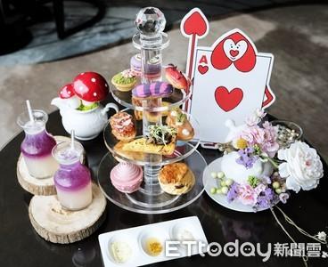 要好吃還要更好拍 六福皇宮推出愛麗絲主題餐點與午茶