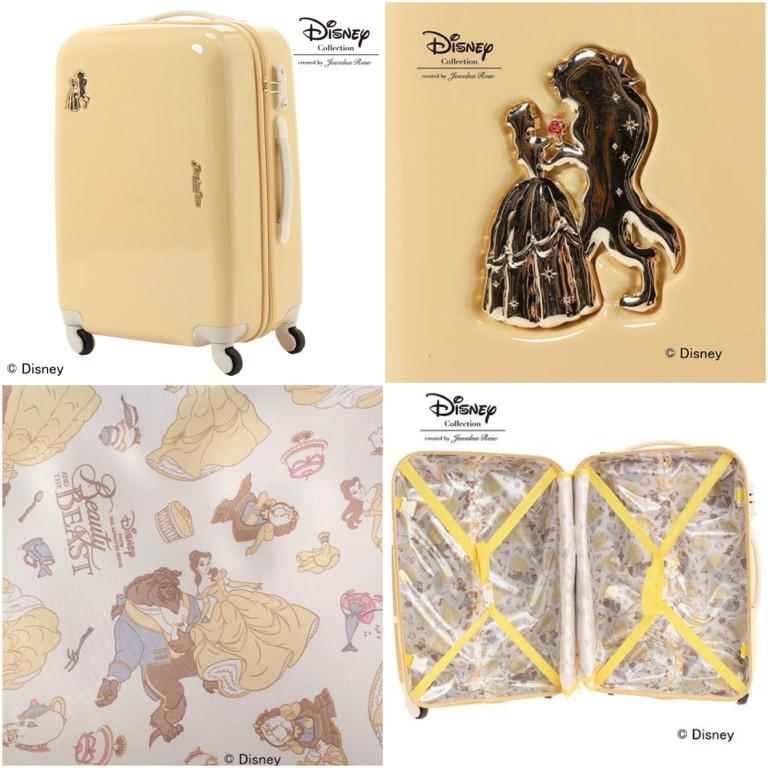 日本灰姑娘行李箱太梦幻!连内裡夹层都是满满公主