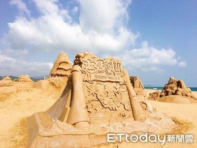 福隆沙雕藝術季探索台灣10島
