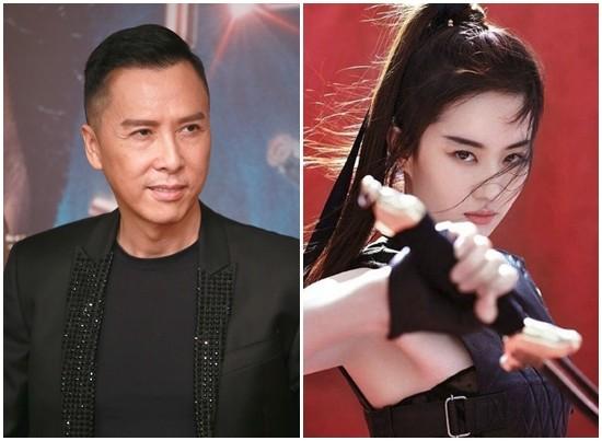 甄子丹确定出演《花木兰》 超狂将军角色对打刘亦菲