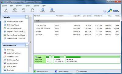 阿榮/分區助手 - 磁區調整軟體