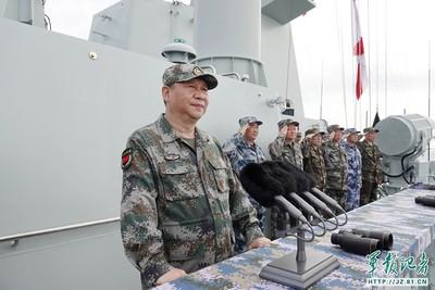 港媒:習近平將主持海軍70周年海上閱兵