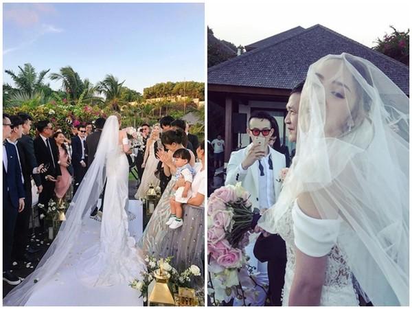 ▲▼《黑澀會》Vicky結婚了!(圖/翻攝自Vicky IG)