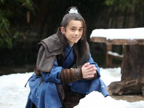 ▲吳磊飾演「飛流」一角令人印象深刻。(圖/翻攝自微博、《鳳凰網娛樂》)