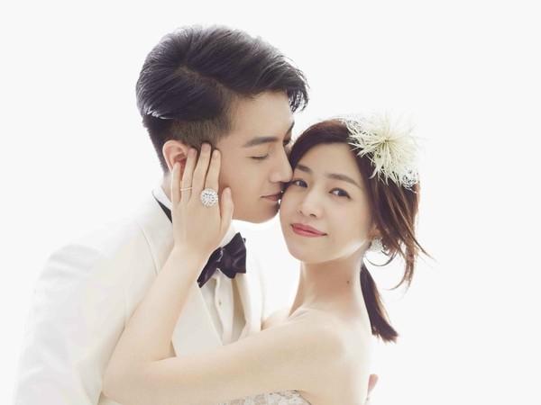▲▼陳妍希和陳曉結婚2年驚傳婚姻亮紅燈。(圖/翻攝自《Elle》微博)