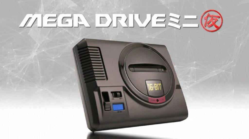 懷舊風起!SEGA宣布即將出迷你Mega Drive