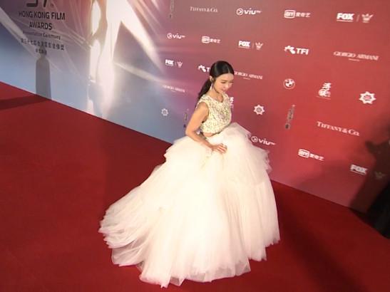 ▲▼第37屆香港電影金像獎薛凱琪。(圖/翻攝自TFI)
