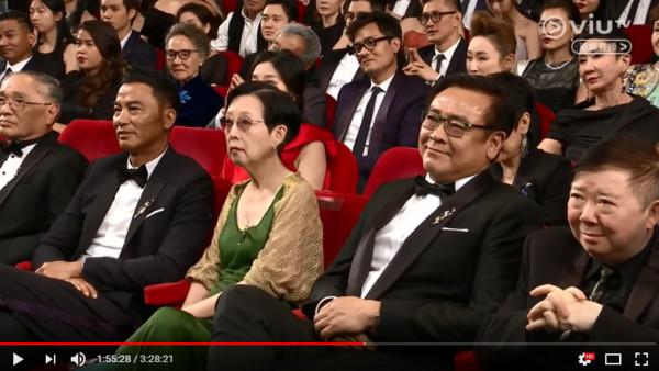 黃秋生金像獎打臉成龍。(圖/翻攝自Youtube)