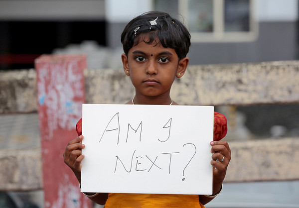 ▲▼印度民眾上街抗議性侵案頻傳。(圖/路透社)