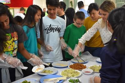 美國庫柏蒂諾市交流學生來訪竹市
