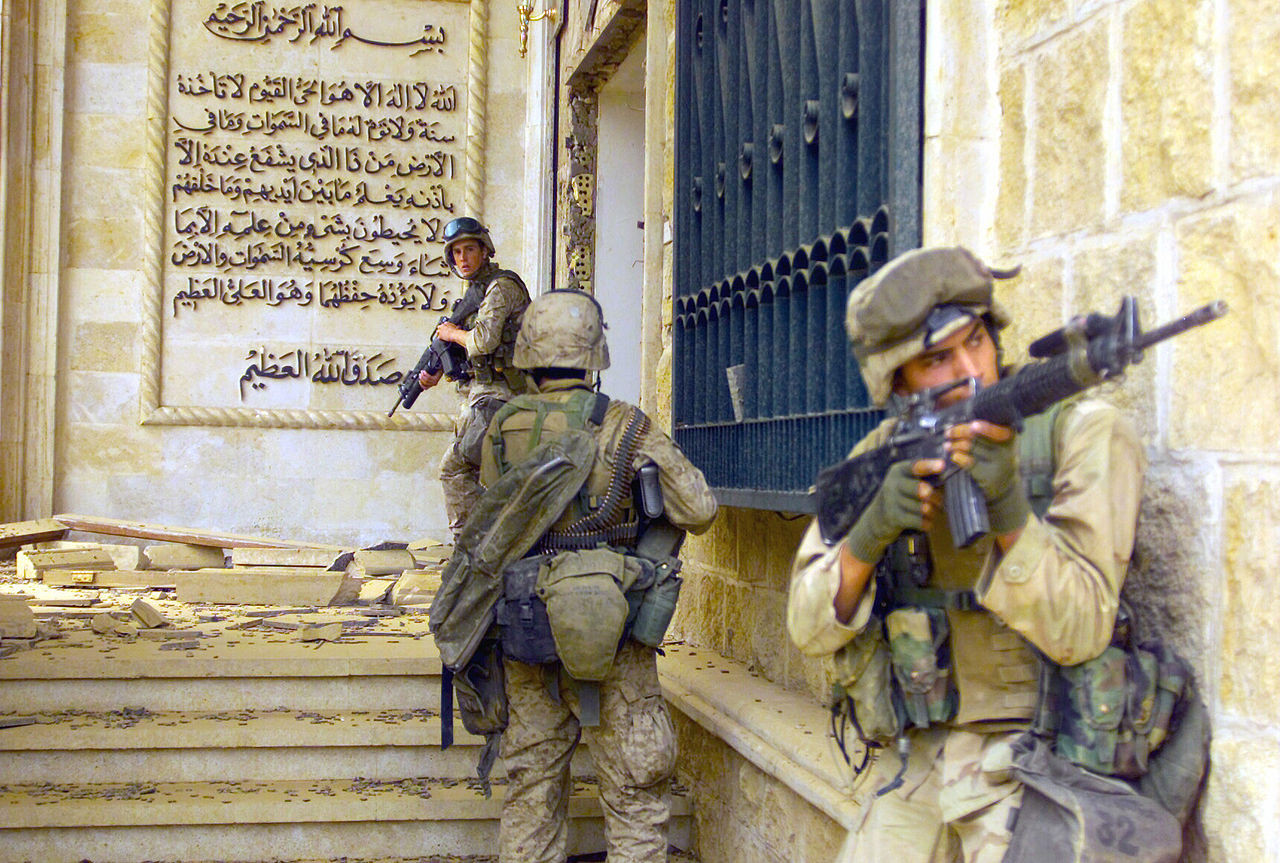 ▲▼伊拉克戰爭(圖/Wikipedia)
