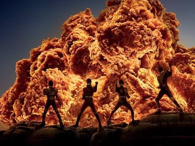 身後烈焰飄來「炸雞味」!肯德基廣告被譽為:史上最強PS團隊
