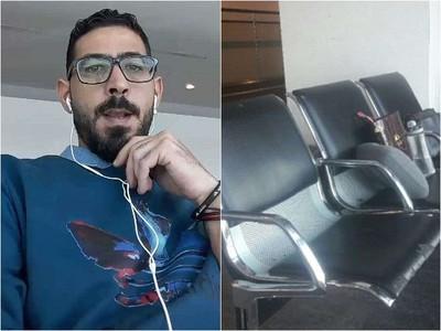 真實版航站情緣 敘利亞拒戰男卡機場走不了 靠清潔工接濟才有飯吃