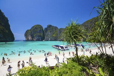每天5000人踩踏!泰國旅遊勝地PP島瑪雅灣 將無限期關閉