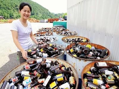 變態般的乾淨!日山中小鎮「15年零垃圾」資源回收高達45種