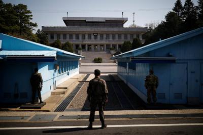 北韓軍人深夜越界 表明歸順意願