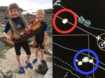 8歲童造船漂流1年「定位還在閃」 已越過大西洋恐被海盜攔截