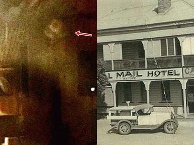 「戴帽無頭女」浮窗邊!百年酒店地板喀喀響 11點準時出人命