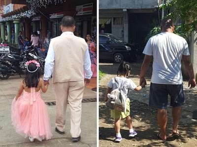 跟拍老公與前世情人「緊牽不放」 媽媽藏照片10年給女兒當嫁妝